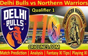 Today Match Prediction-Delhi Bulls vs Northern Warriors-T10 League-Qualifier 1-Who Will Win