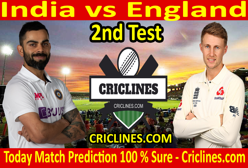 Today Match Prediction-India vs England-2nd Test-Who Will Win