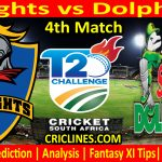 Today Match Prediction-Knights vs Dolphins-CSA T20 Challenge 2021-4th Match-Who Will Win