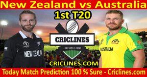 Today Match Prediction-New Zealand vs Australia-1st T20-Who Will Win
