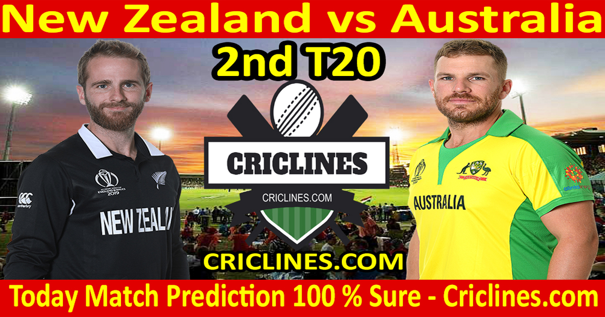 Today Match Prediction-New Zealand vs Australia-2nd T20-Who Will Win