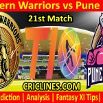 Today Match Prediction-Northern Warriors vs Pune Devils-T10 League-21st Match-Who Will Win