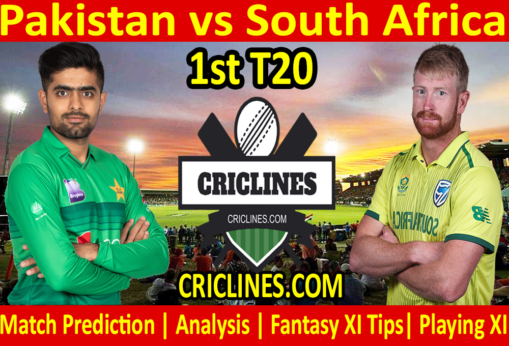 Today Match Prediction-Pakistan vs South Africa-1st T20-Who Will Win