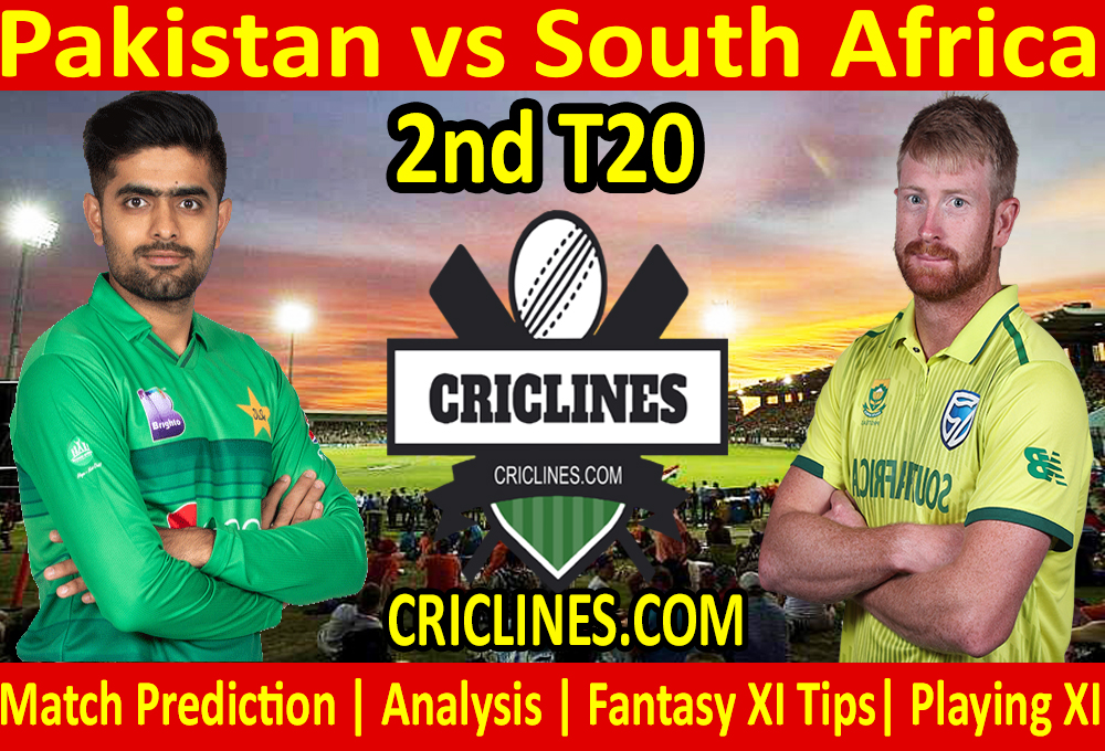 Today Match Prediction-Pakistan vs South Africa-2nd T20-Who Will Win