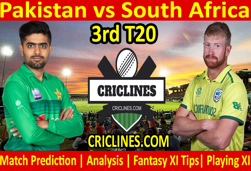 Today Match Prediction-Pakistan vs South Africa-3rd T20-Who Will Win