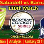 Today Match Prediction-Hira CC Sabadell vs Barna Royals-ECS T10 Barcelona Series-110th Match-Who Will Win