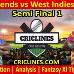 Today Match Prediction-India Legends vs West Indies Legends-Semi Final 1-Who Will Win