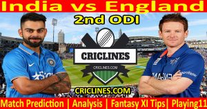 Today Match Prediction-India vs England-2nd ODI-2021-Who Will Win