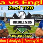 Today Match Prediction-India vs England-2nd T20-2021-Who Will Win