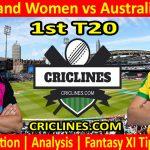 Today Match Prediction-New Zealand Women vs Australia Women-1st T20-2021-Who Will Win