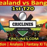 Today Match Prediction-New Zealand vs Bangladesh-1st T20-Who Will Win