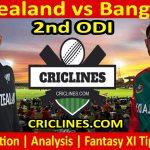 Today Match Prediction-New Zealand vs Bangladesh-2nd ODI-Who Will Win