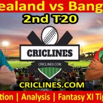 Today Match Prediction-New Zealand vs Bangladesh-2nd T20-Who Will Win
