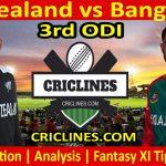 Today Match Prediction-New Zealand vs Bangladesh-3rd ODI-Who Will Win