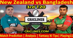 Today Match Prediction-New Zealand vs Bangladesh-3rd T20-Who Will Win