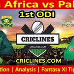 Today Match Prediction-South Africa vs Pakistan-1st ODI-Who Will Win