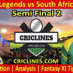 Today Match Prediction-Sri Lanka Legends vs South Africa Legends-Semi Final 2-Who Will Win