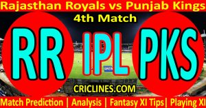 Today Match Prediction-Rajasthan Royals vs Punjab Kings-IPL T20 2021-4th Match-Who Will Win