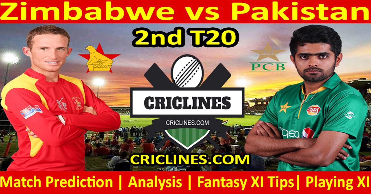 Today Match Prediction-Zimbabwe vs Pakistan-2nd T20-Who Will Win