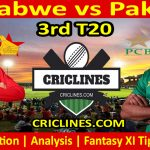 Today Match Prediction-Zimbabwe vs Pakistan-3rd T20-Who Will Win