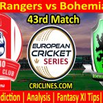Today Match Prediction-Brno Rangers vs Bohemian CC-ECS T10 Prague League-43rd Match-Who Will Win