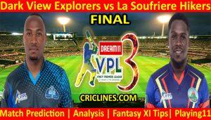 Today Match Prediction-Dark View Explorers vs La Soufriere Hikers-VPL T10 2021-Final-Who Will Win