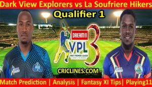 Today Match Prediction-Dark View Explorers vs La Soufriere Hikers-VPL T10 2021-Qualifier 1 Match-Who Will Win