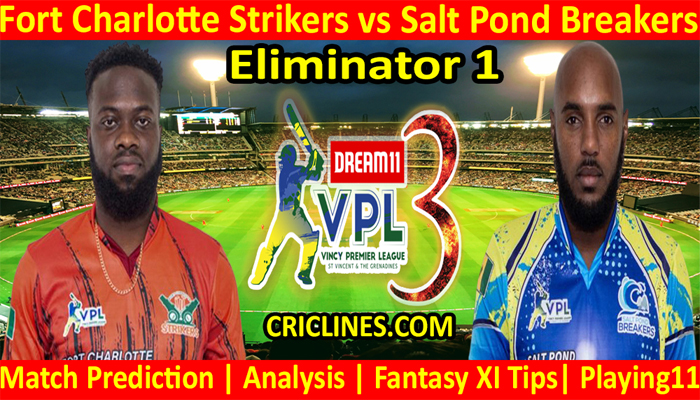Today Match Prediction-Fort Charlotte Strikers vs Salt Pond Breakers-VPL T10 2021-Eliminator 1-Who Will Win
