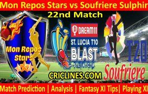 Today Match Prediction-Mon Repos Stars vs Soufriere Sulphir-St