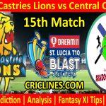 Today Match Prediction-South Castries Lions vs Central Castries-St