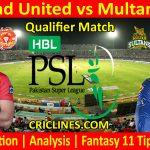 Today Match Prediction-Islamabad United vs Multan Sultans-PSL T20 2021-Qualifier-Who Will Win