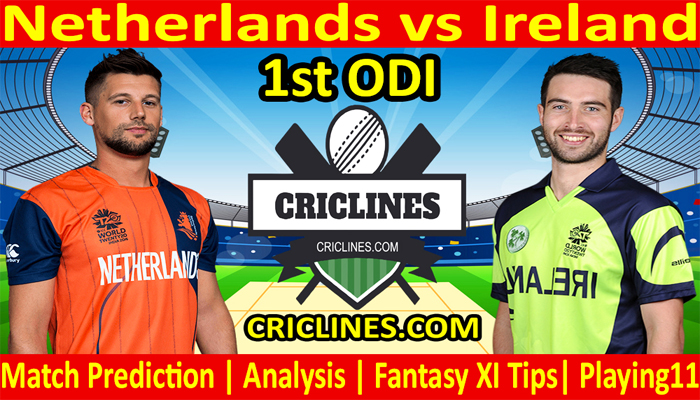Today Match Prediction-Netherlands vs Ireland-1st ODI-Who Will Win Today