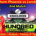 Today Match Prediction-Birmingham Phoenix vs London Spirit-The Hundred League-2021-2nd Match-Who Will Win