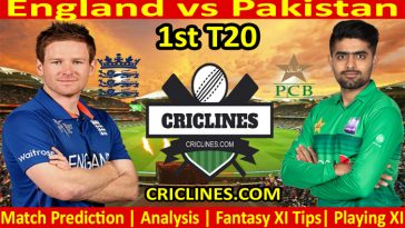 Today Match Prediction-England vs Pakistan-1st T20-2021-Who Will Win