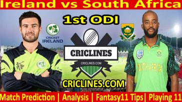 Today Match Prediction-Ireland vs South Africa-1st ODI-2021-Who Will Win
