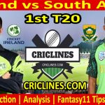Today Match Prediction-Ireland vs South Africa-1st T20-2021-Who Will Win