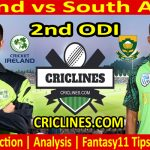 Today Match Prediction-Ireland vs South Africa-2nd ODI-2021-Who Will Win