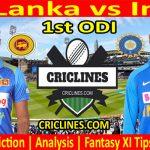Today Match Prediction-Sri Lanka vs India-1st ODI 2021-Who Will Win