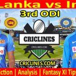 Today Match Prediction-Sri Lanka vs India-3rd ODI 2021-Who Will Win