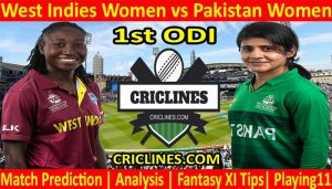 Today Match Prediction-West Indies Women vs Pakistan Women-1st ODI-2021-Who Will Win