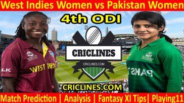 Today Match Prediction-West Indies Women vs Pakistan Women-4th ODI-2021-Who Will Win