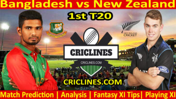 Today Match Prediction-Bangladesh vs New Zealand-1st T20 2021-Who Will Win