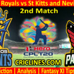 Today Match Prediction-Barbados Royals vs St Kitts and Nevis Patriots-CPL T20 2021-2nd Match-Who Will Win