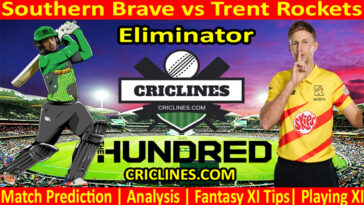 Today Match Prediction-Southern Brave vs Trent Rockets-The Hundred League-2021-Eliminator-Who Will Win