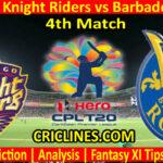Today Match Prediction-Trinbago Knight Riders vs Barbados Royals-CPL T20 2021-4th Match-Who Will Win