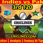Today Match Prediction-West Indies vs Pakistan-3rd T20-2021-Who Will Win