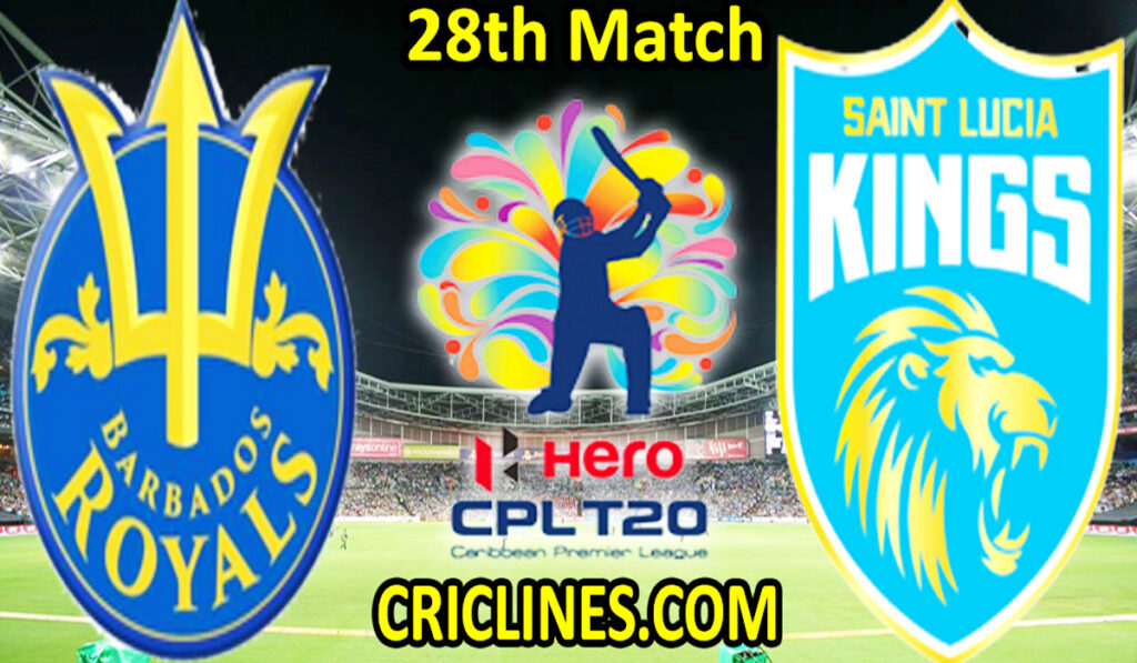 Today Match Prediction-BRS vs SLK-CPL T20 2021-28th Match-Who Will Win