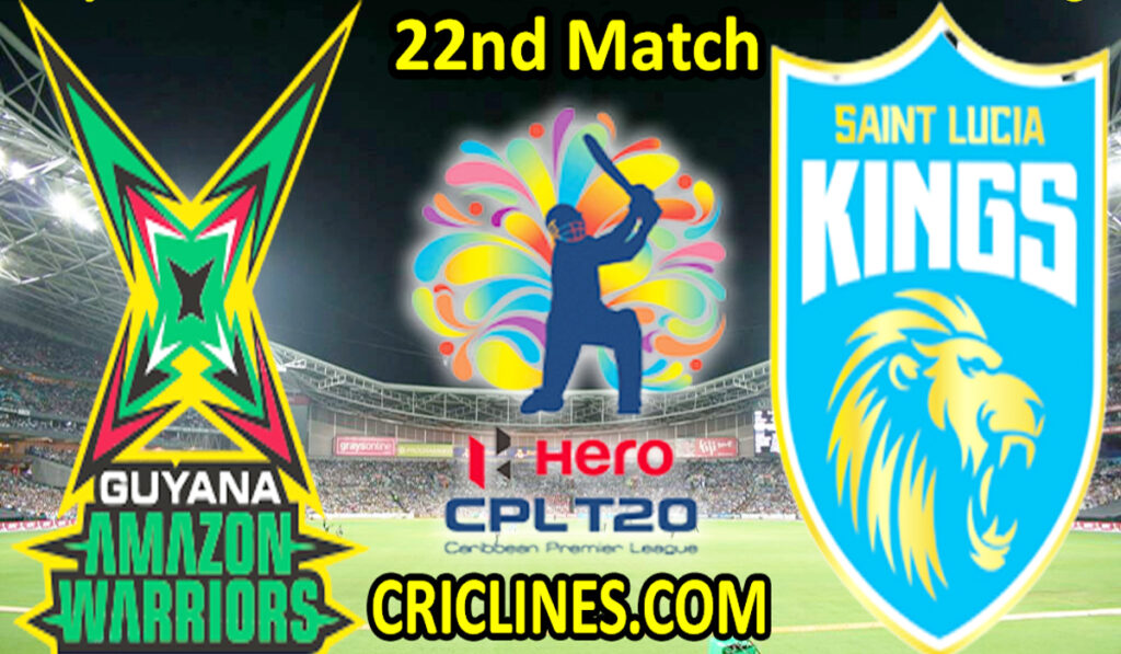 Today Match Prediction-GAW vs SLK-CPL T20 2021-22nd Match-Who Will Win