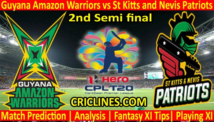 Today Match Prediction-GAW vs SNP-CPL T20 2021-2nd Semi final-Who Will Win