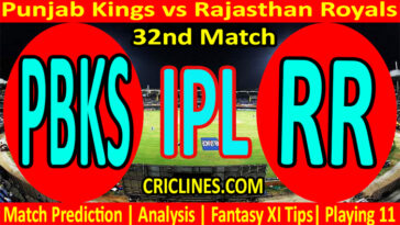 Today Match Prediction-PBKS vs RR-IPL T20 2021-32nd Match-Who Will Win